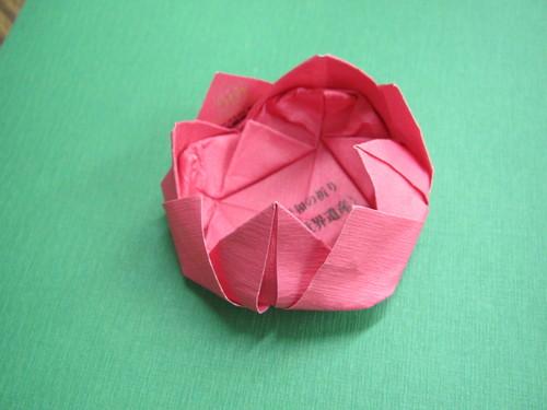 ハート 折り紙 折り紙 蓮の花 折り方 : ichitabi.jp